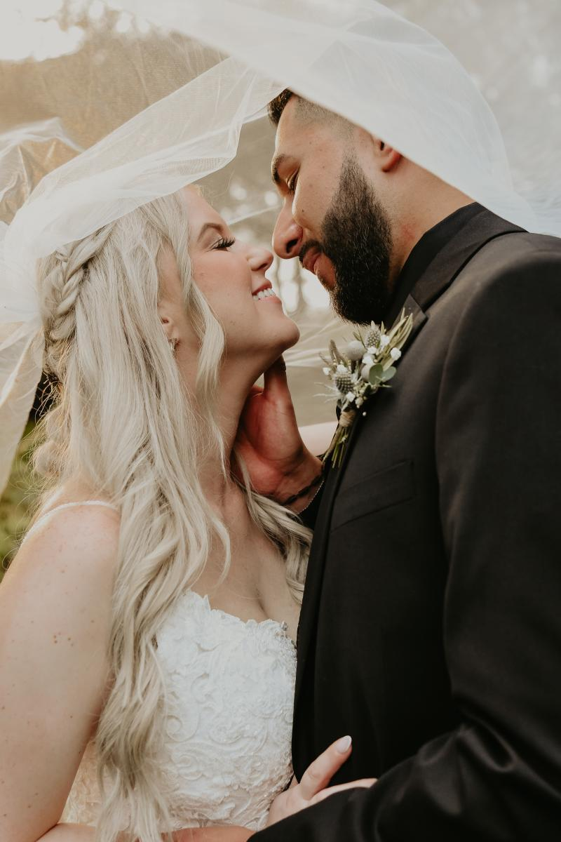 Florida wedding bride and groom pictures