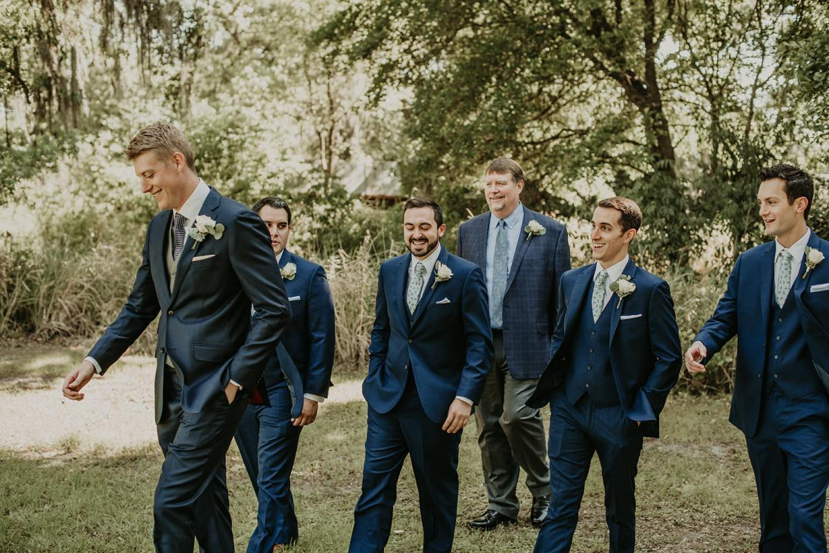 Mitch and his groomsmen
