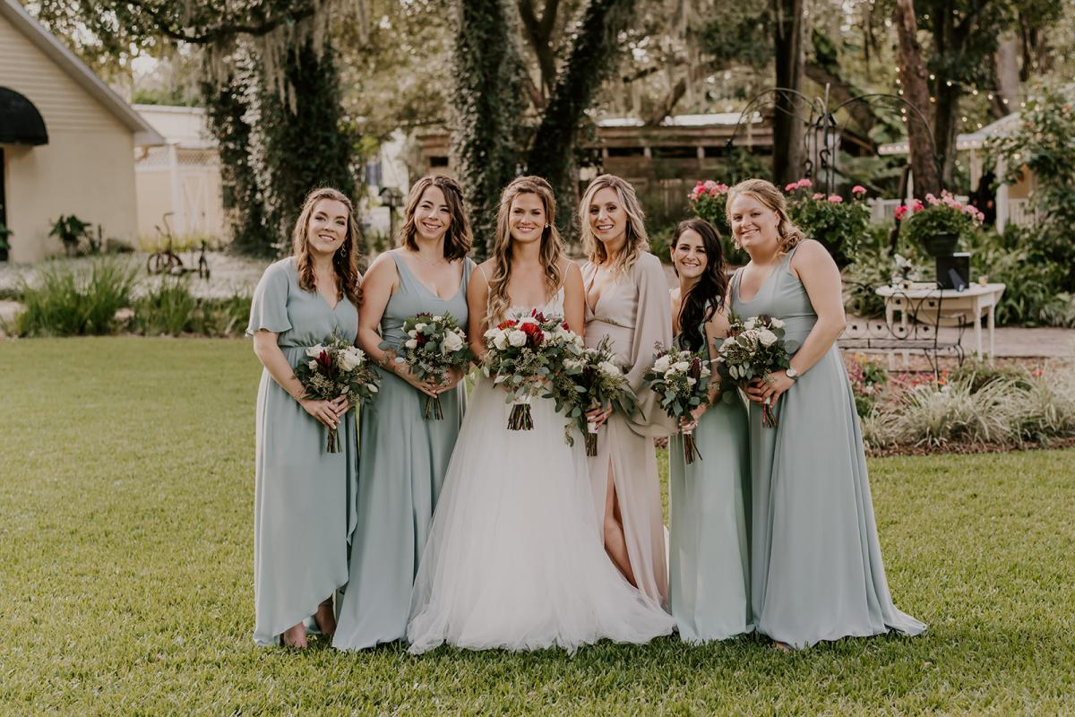 Kirstin and her bridal party