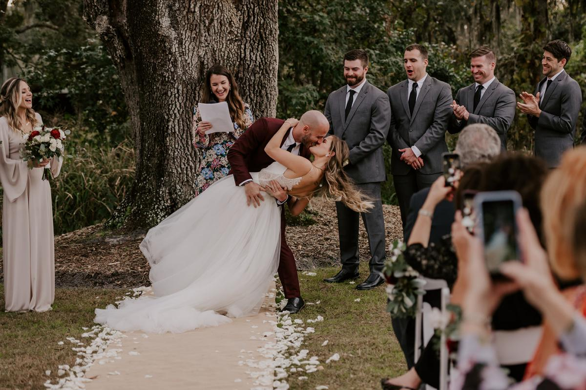 Kirstin and Julian are finally married!