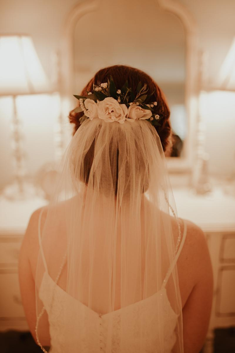 Wedding hair accessories for the bride