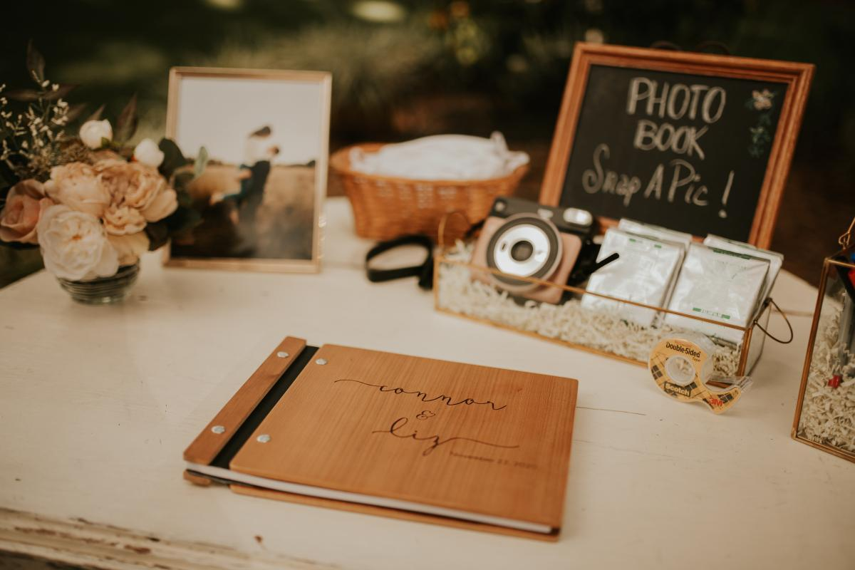 Welcome wedding guest book