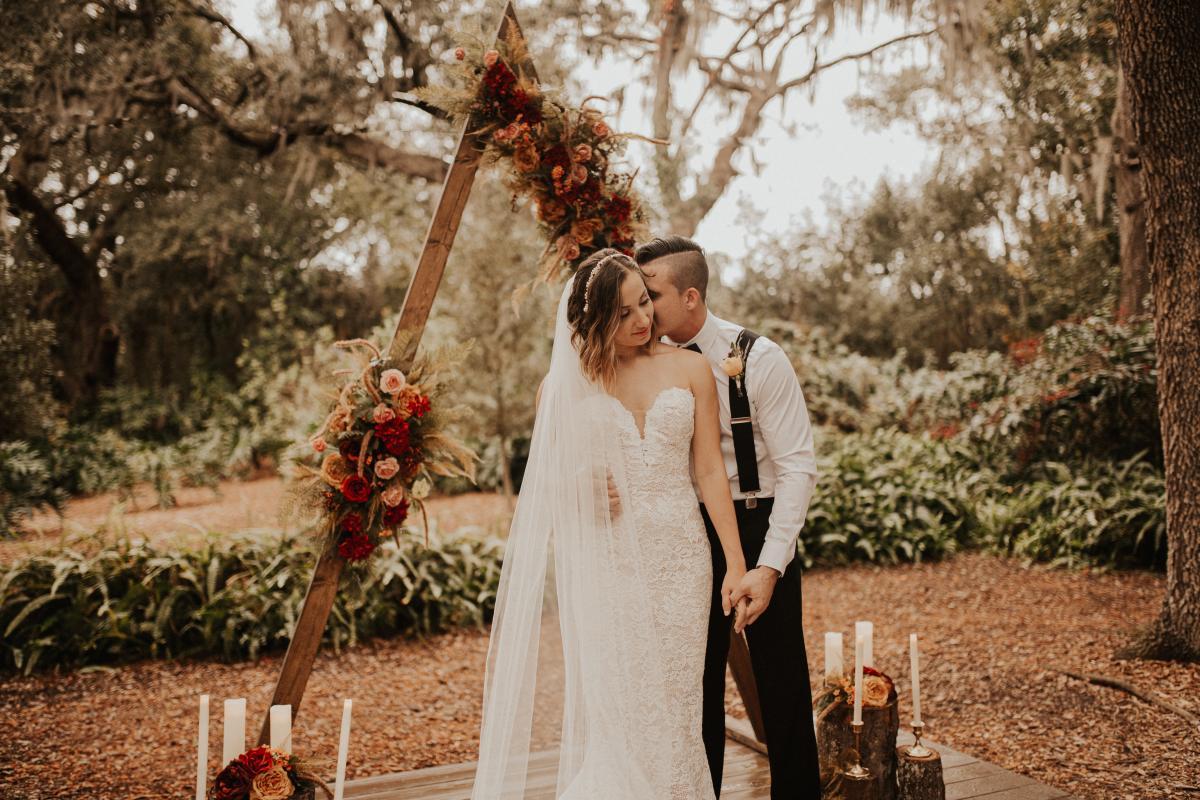 boho wedding styled shoot