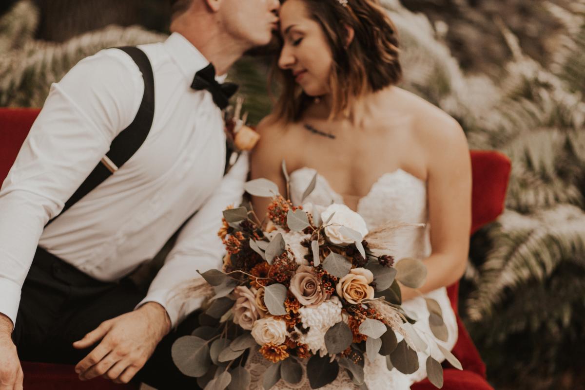 boho wedding styled shoot photos