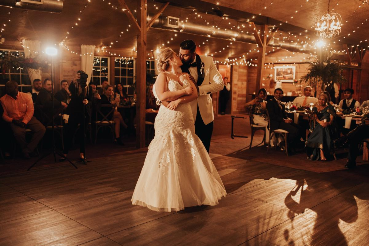 Sadie and Kiran's first dance