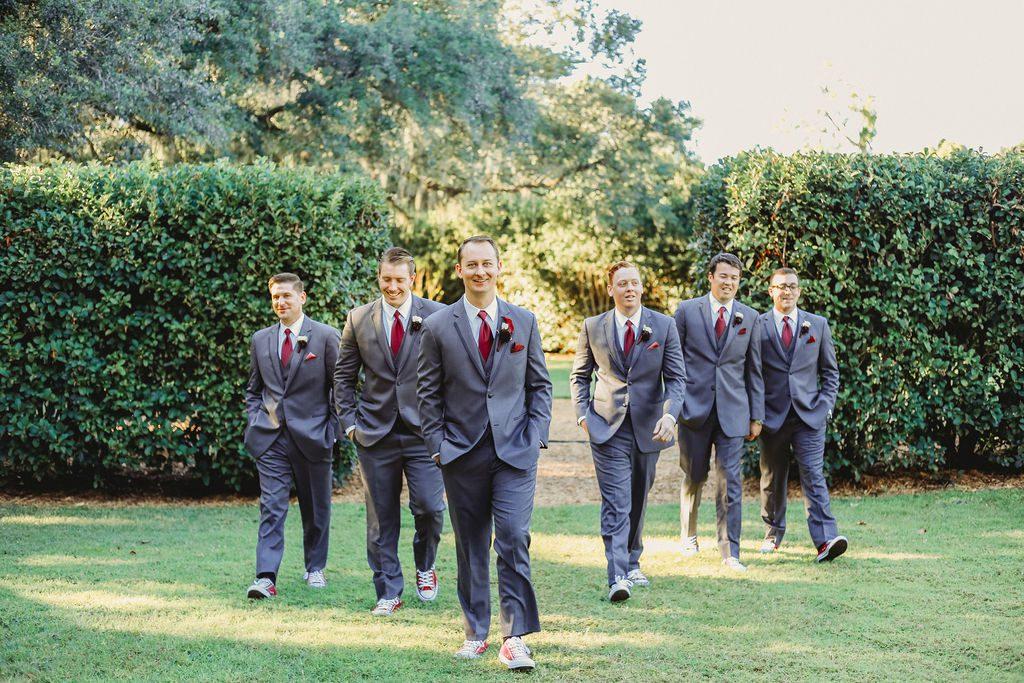 Jarrod and his groomsmen