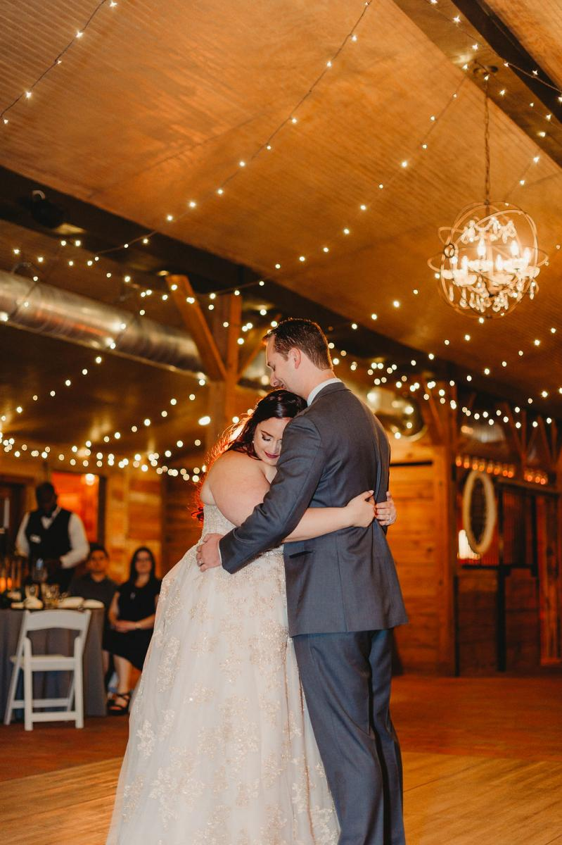 Heather and Jarrod's first dance