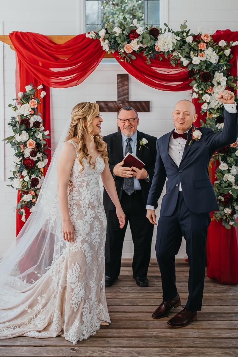 Finally married inside the Chapel