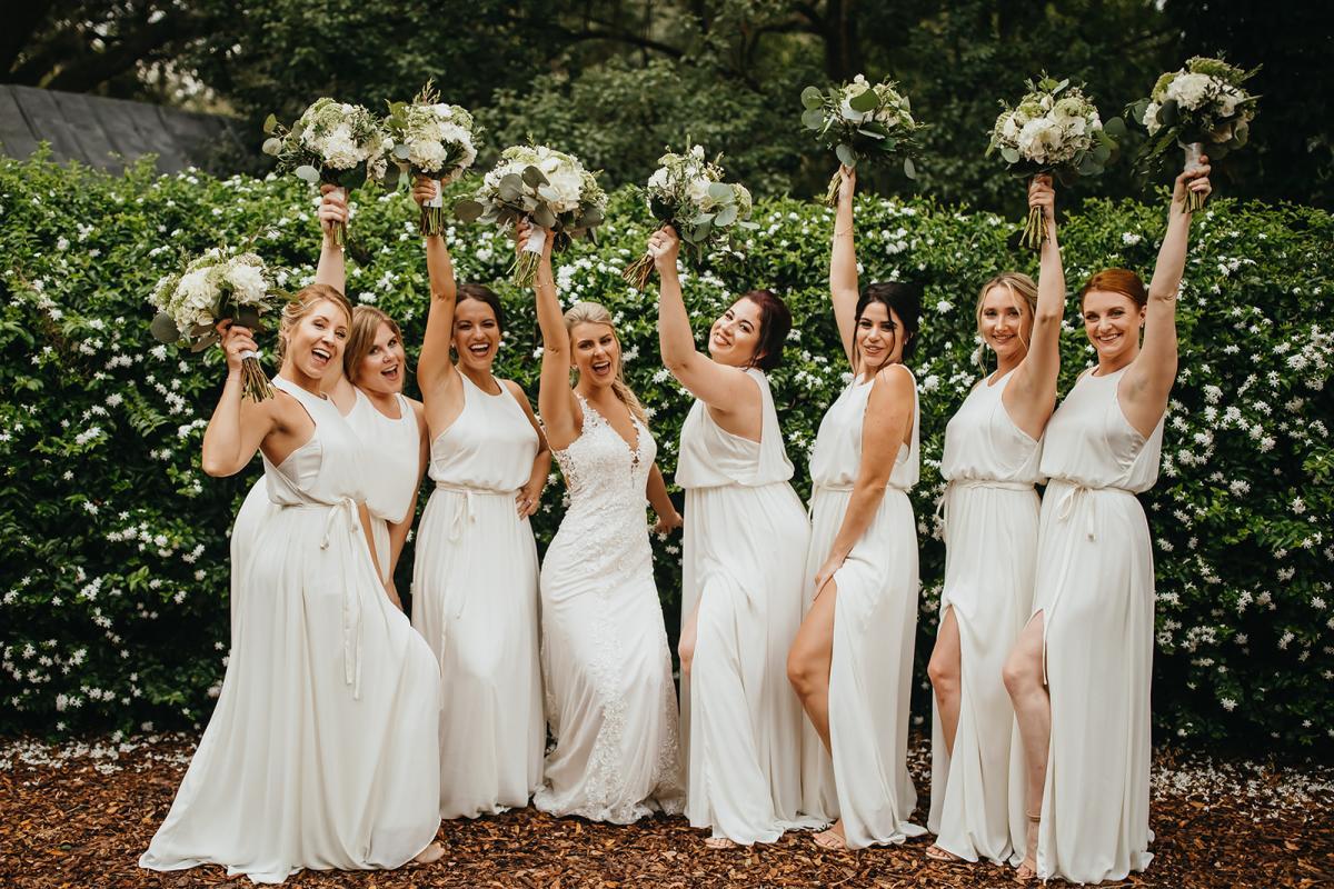 Bri's bridesmaids