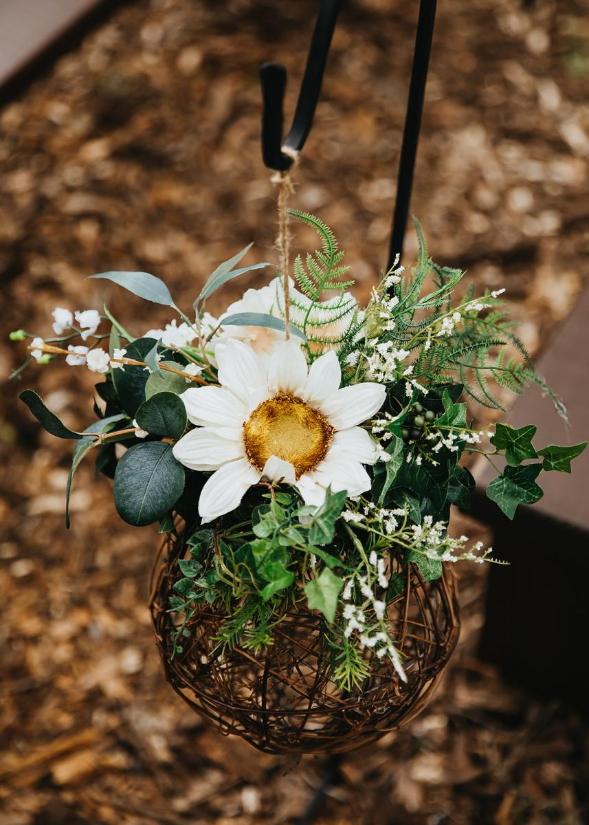 Silk flower arrangements created by our Floral team at Cross Creek Ranch
