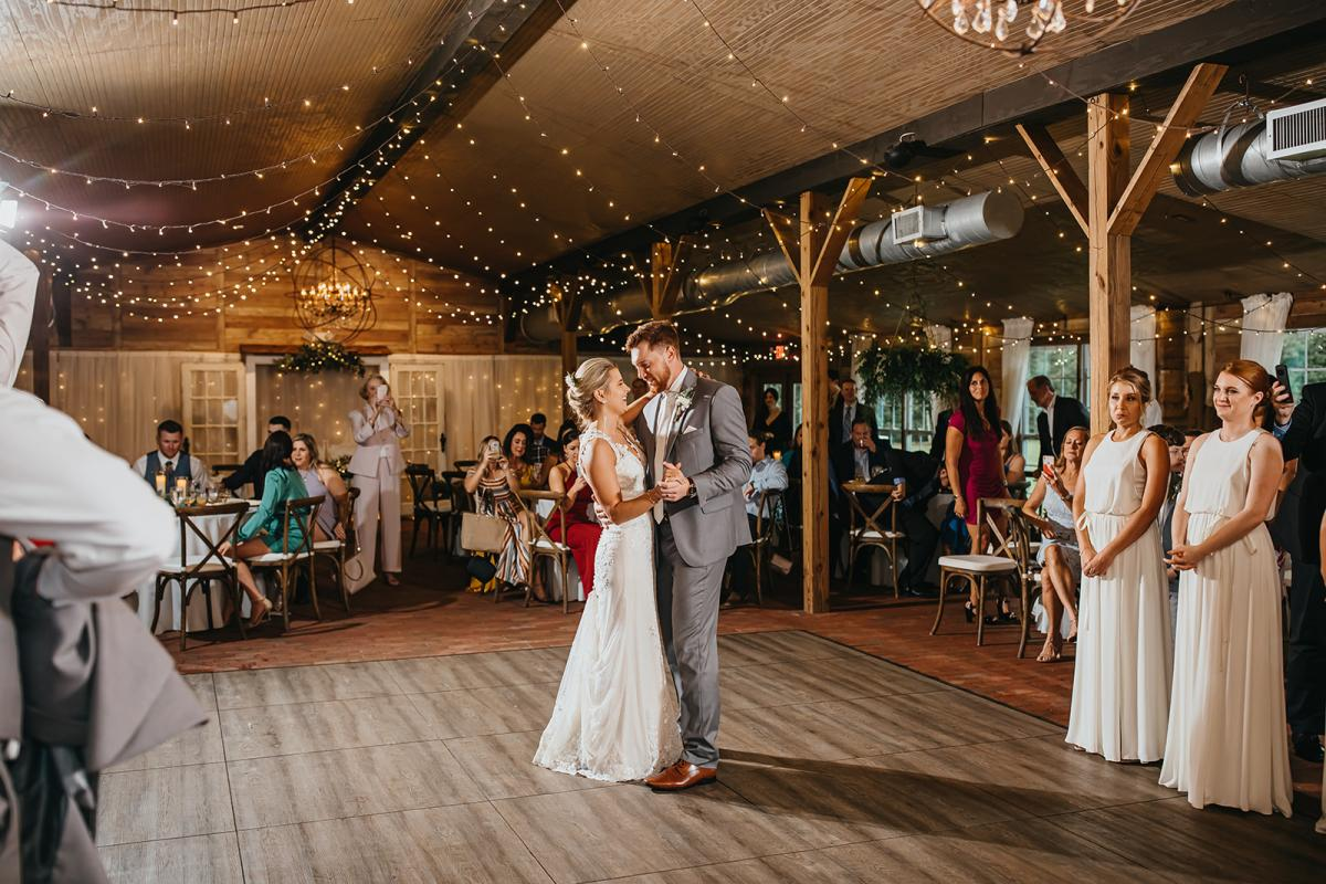 First dance in the Carriage House Stable