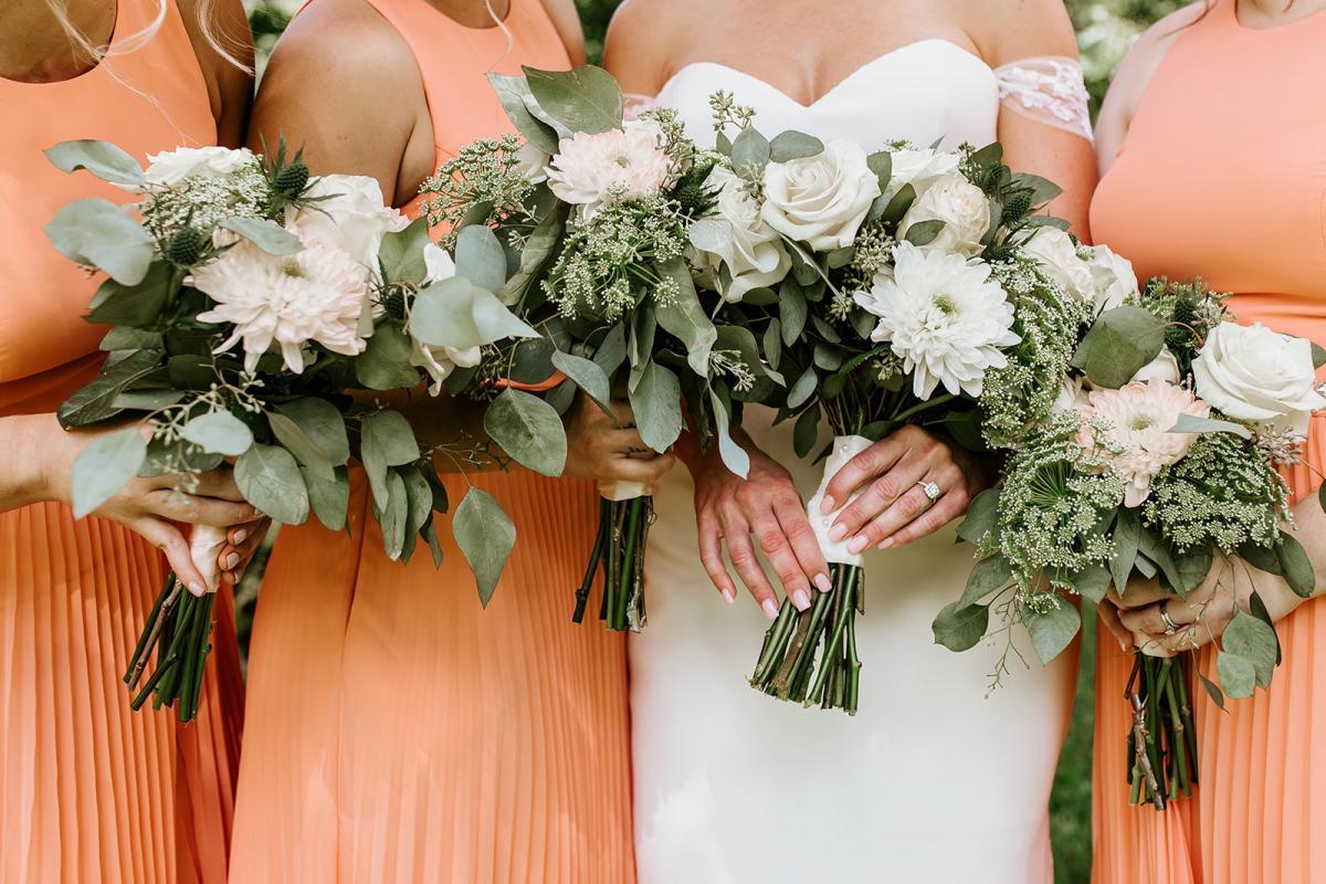 Stunning wedding bouquets by Alta Fleura