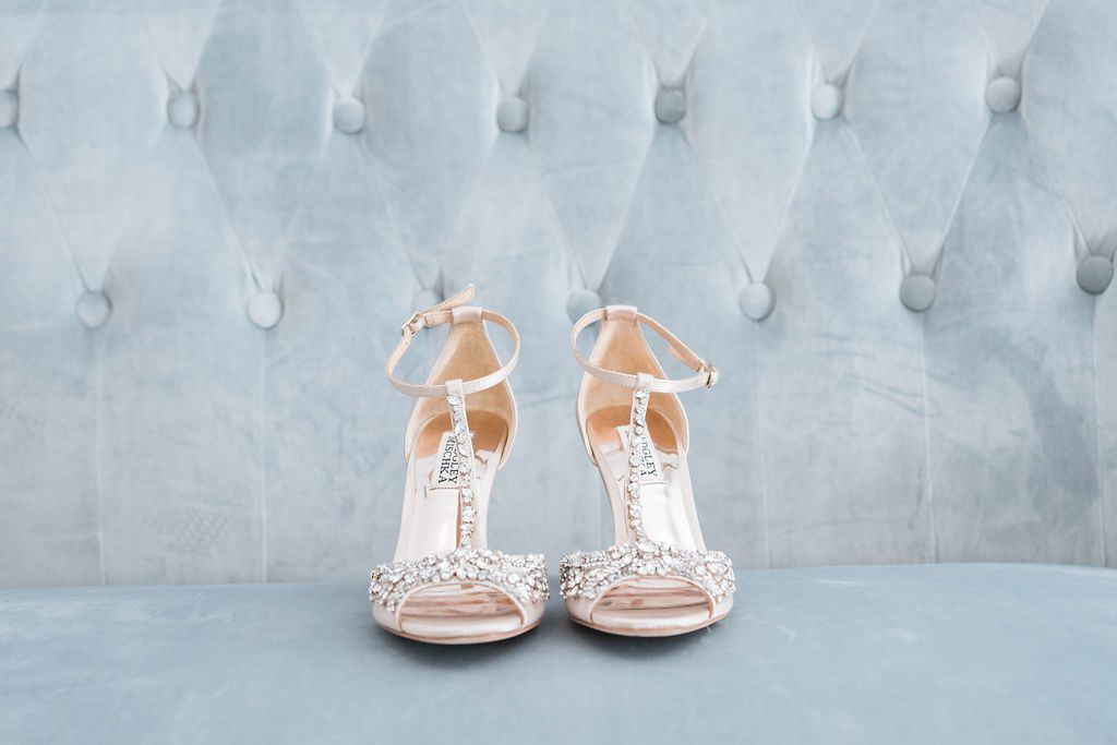 Giselle's wedding shoes
