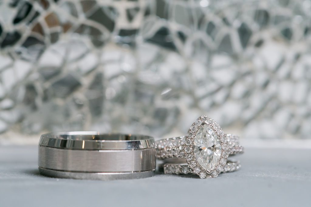 Giselle and Dino's wedding rings