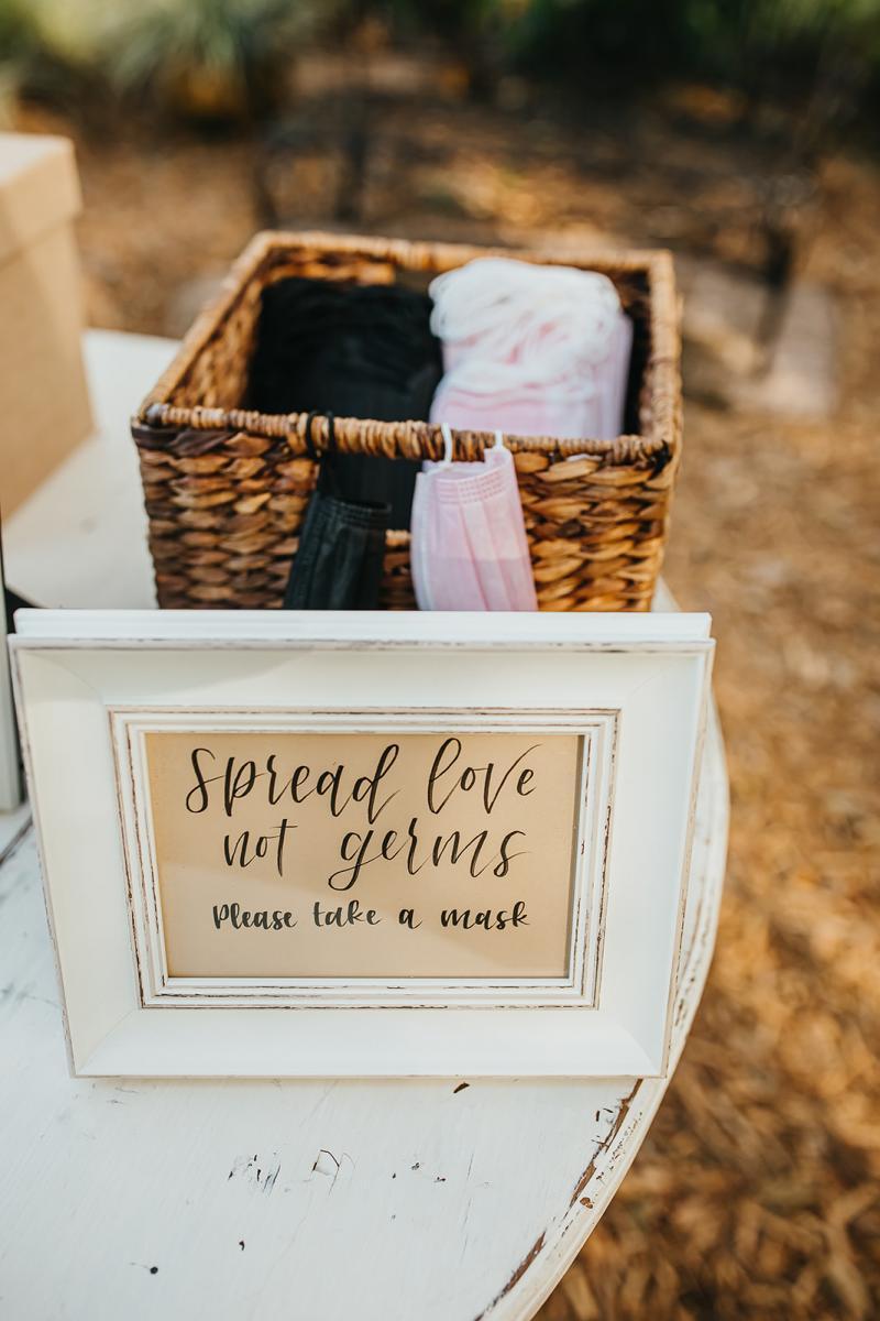 Covid safe wedding ideas