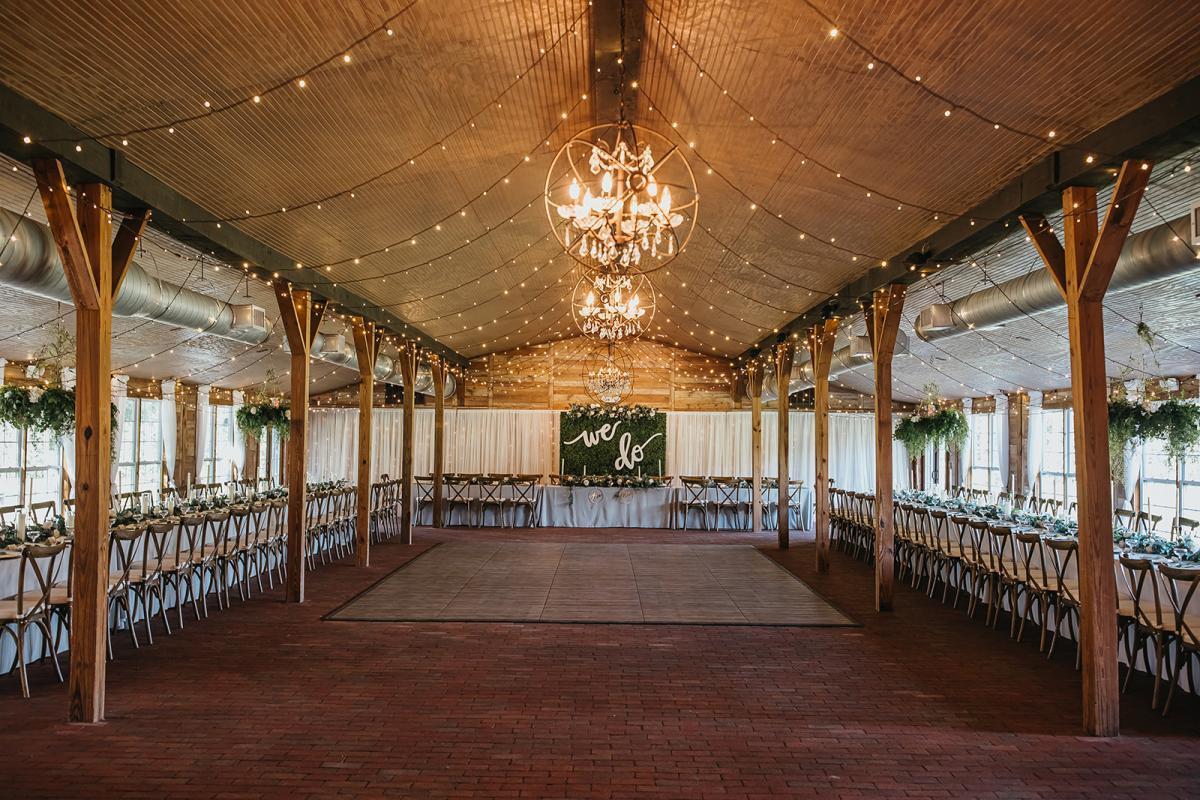 Barn wedding venue in Florida
