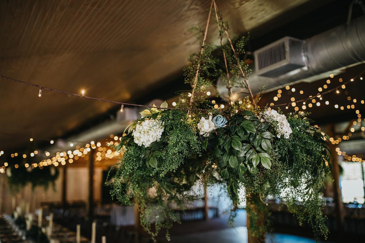Greenery filled wedding