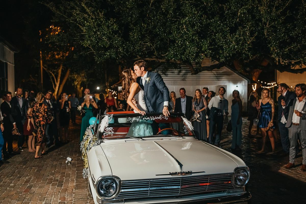 Awesome wedding getaway ideas