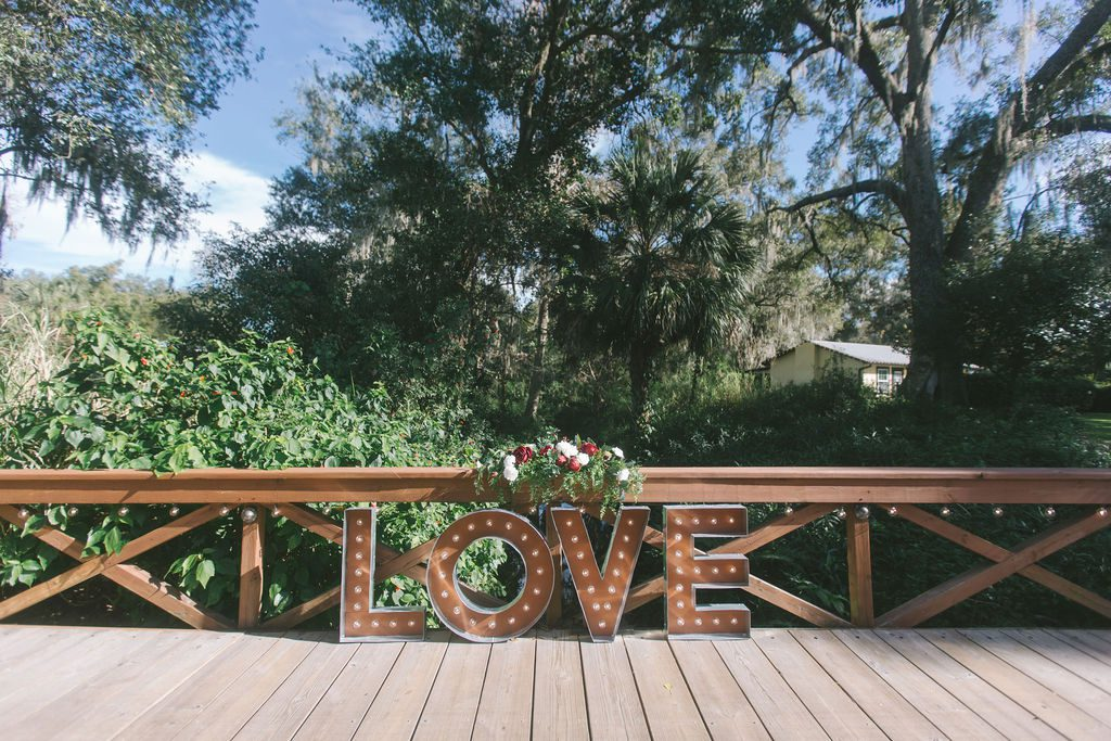 The Love Bridge at Cross Creek Ranch