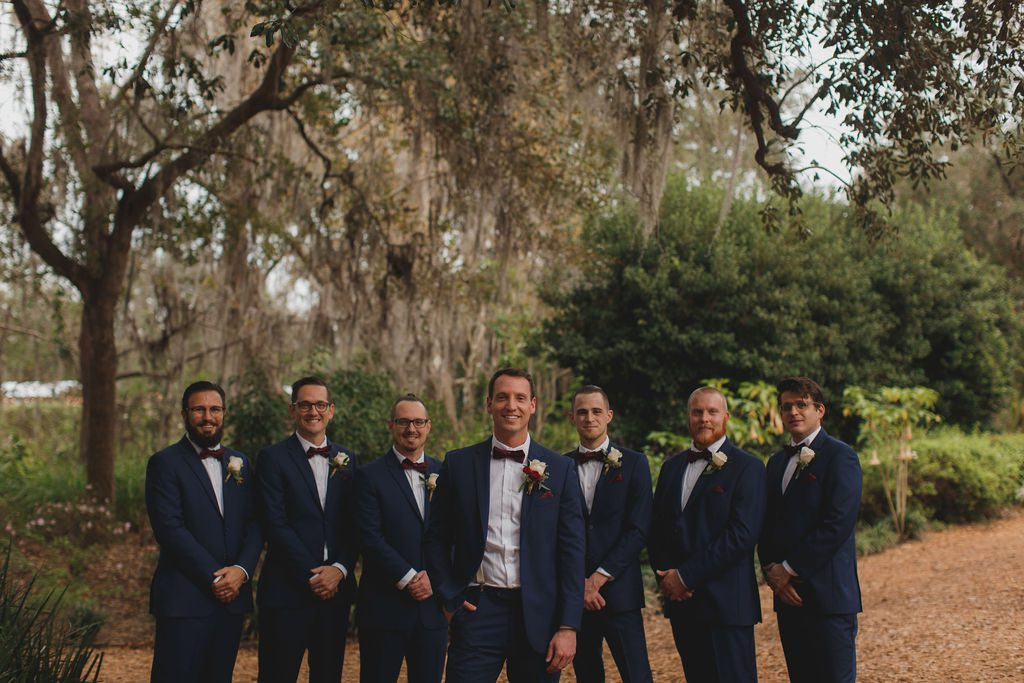 Tyler and his groomsmen