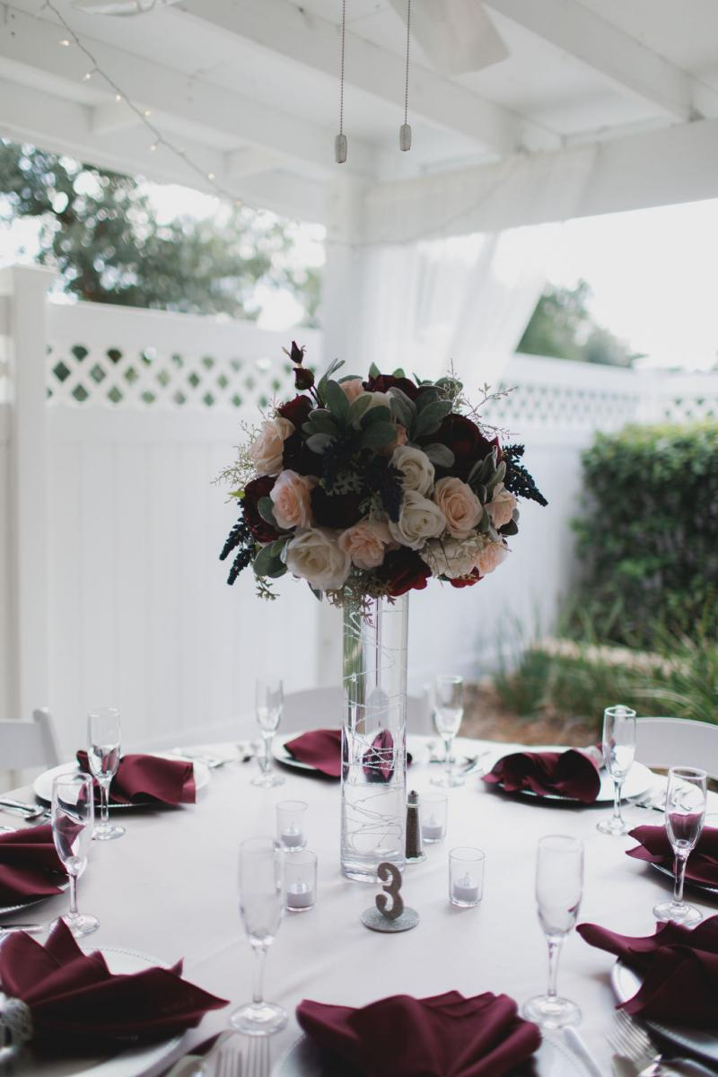 French Country Inn wedding design and decor