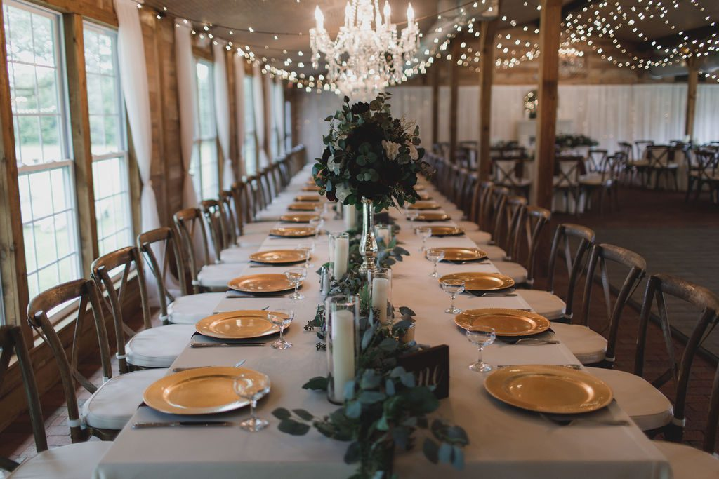 Feasting reception tables