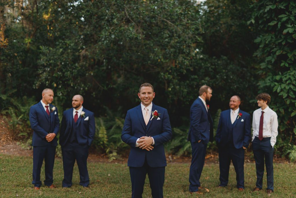 Chad and his groomsmen