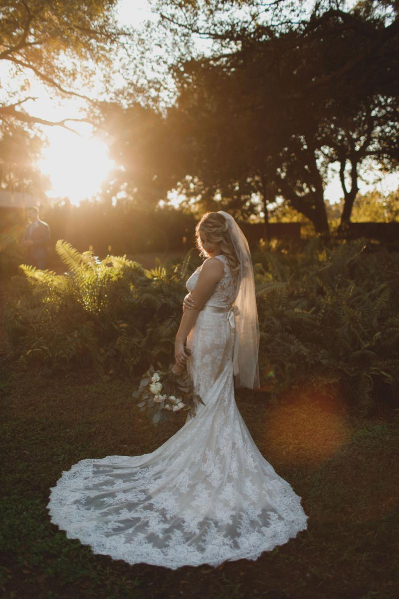 Shelbie chose an Allure Wedding Dress from Kleinfeld Bridal