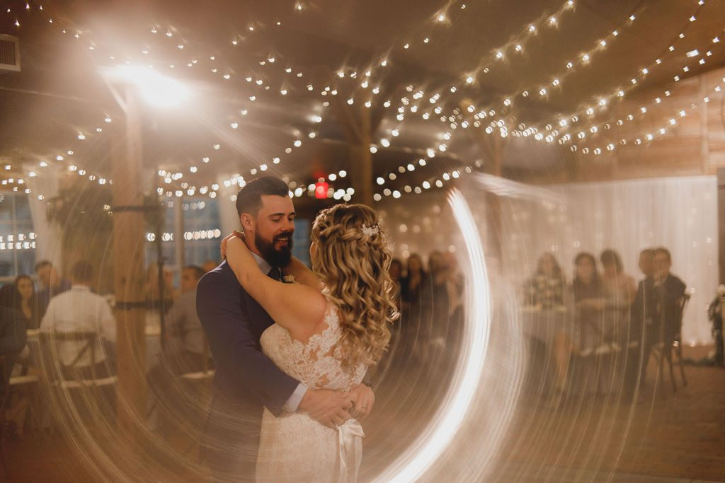 First dance inside the Carriage House Stable