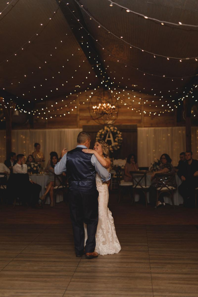 Father daughter dance at the Carriage House Stable
