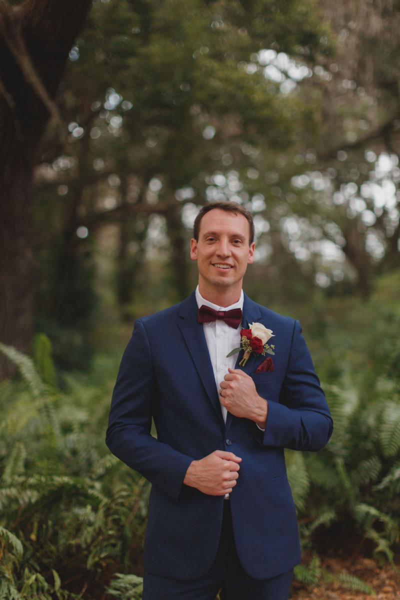 Tyler on his wedding day