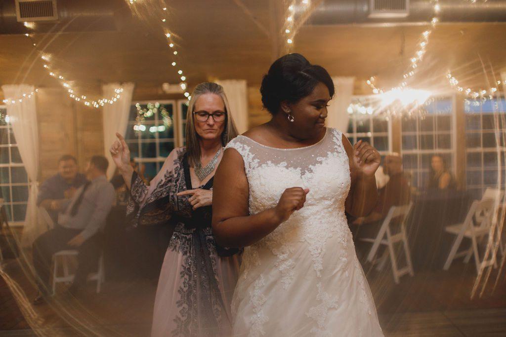 Tori dancing the night away