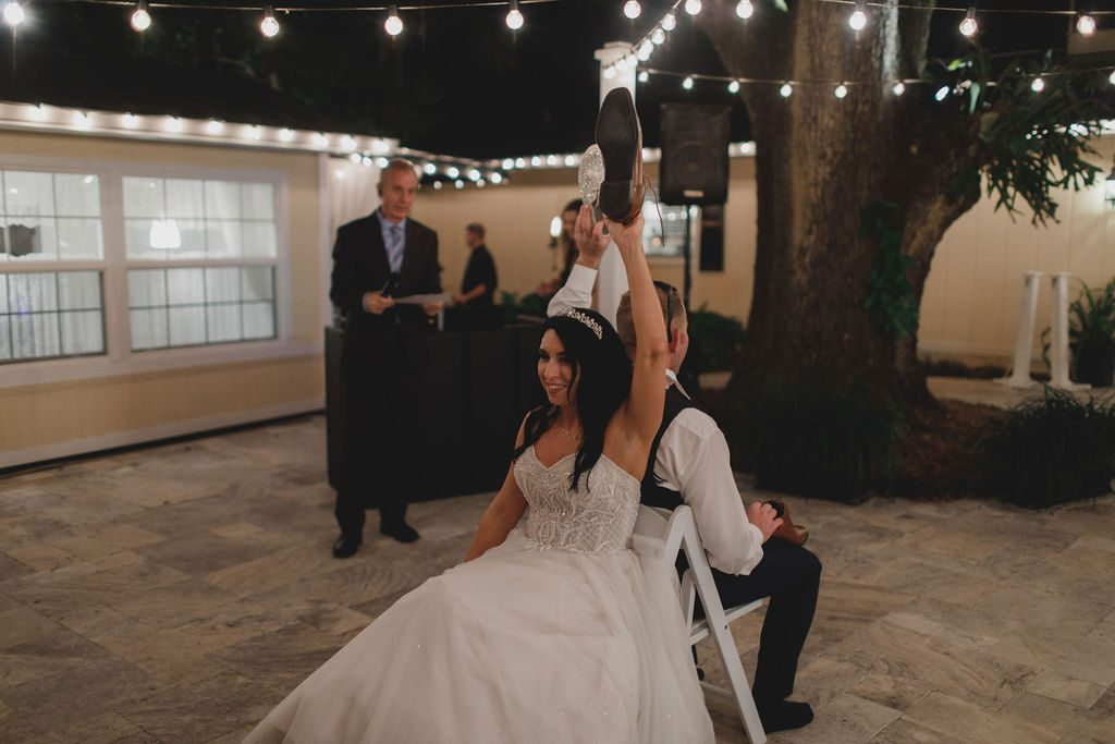 Shoe game at weddings