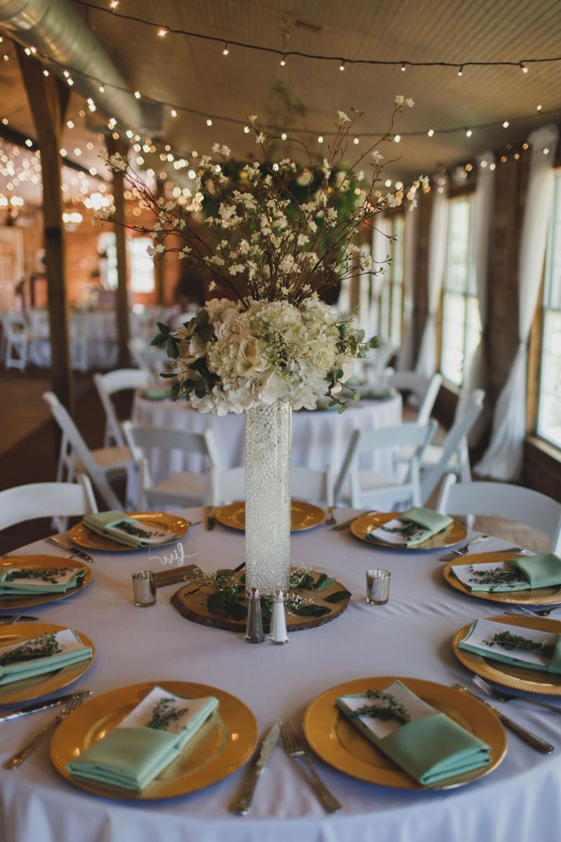 Muted sage green and cream color palette