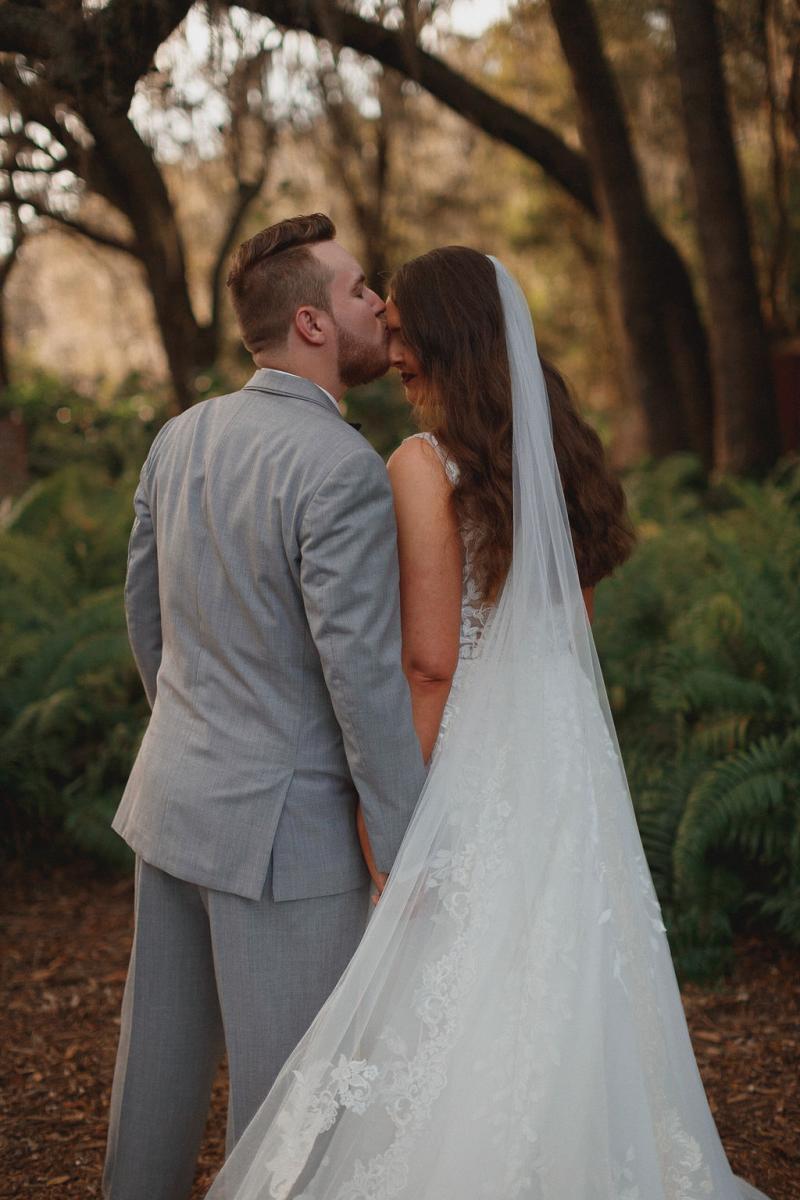 Rustic wedding on a Florida ranch