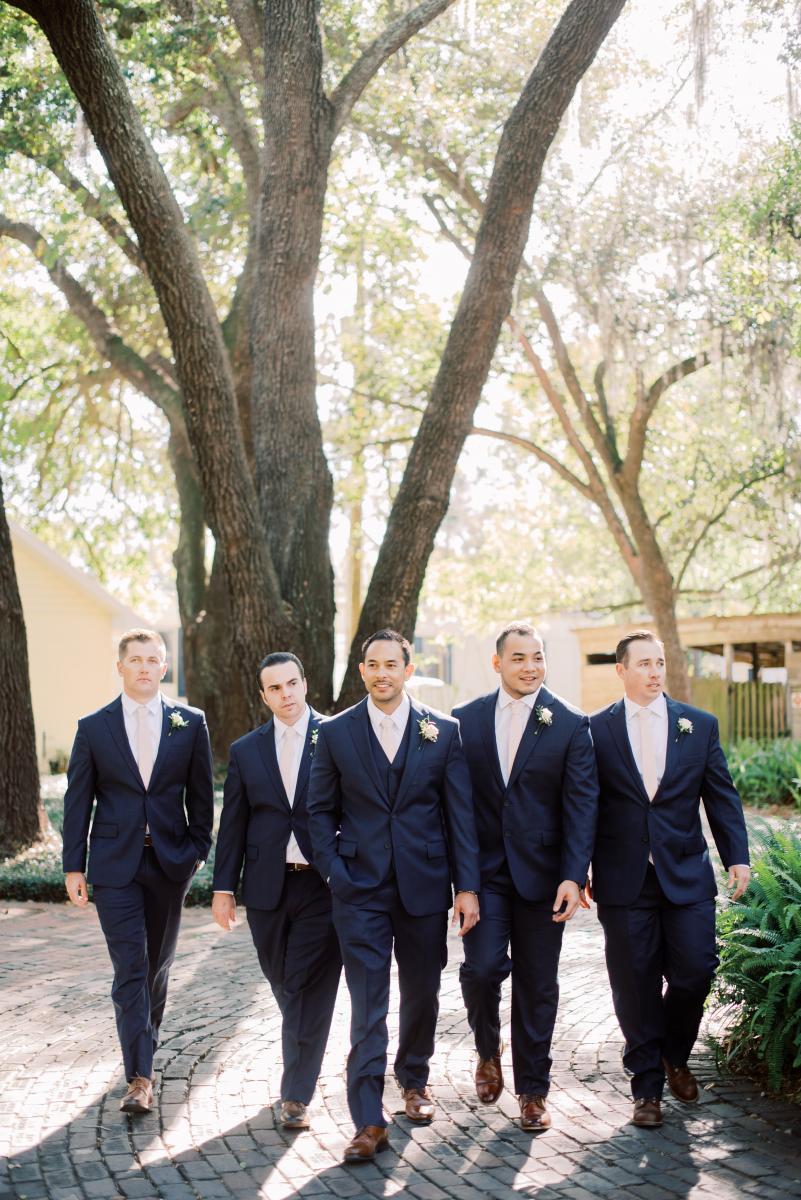AJ and his groomsmen