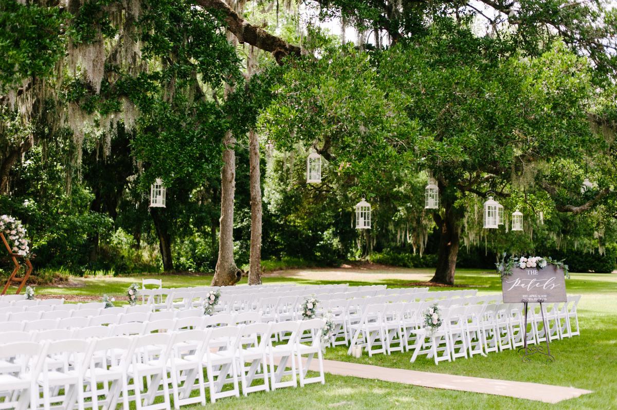 The Grandfather Oak Tree ceremony site