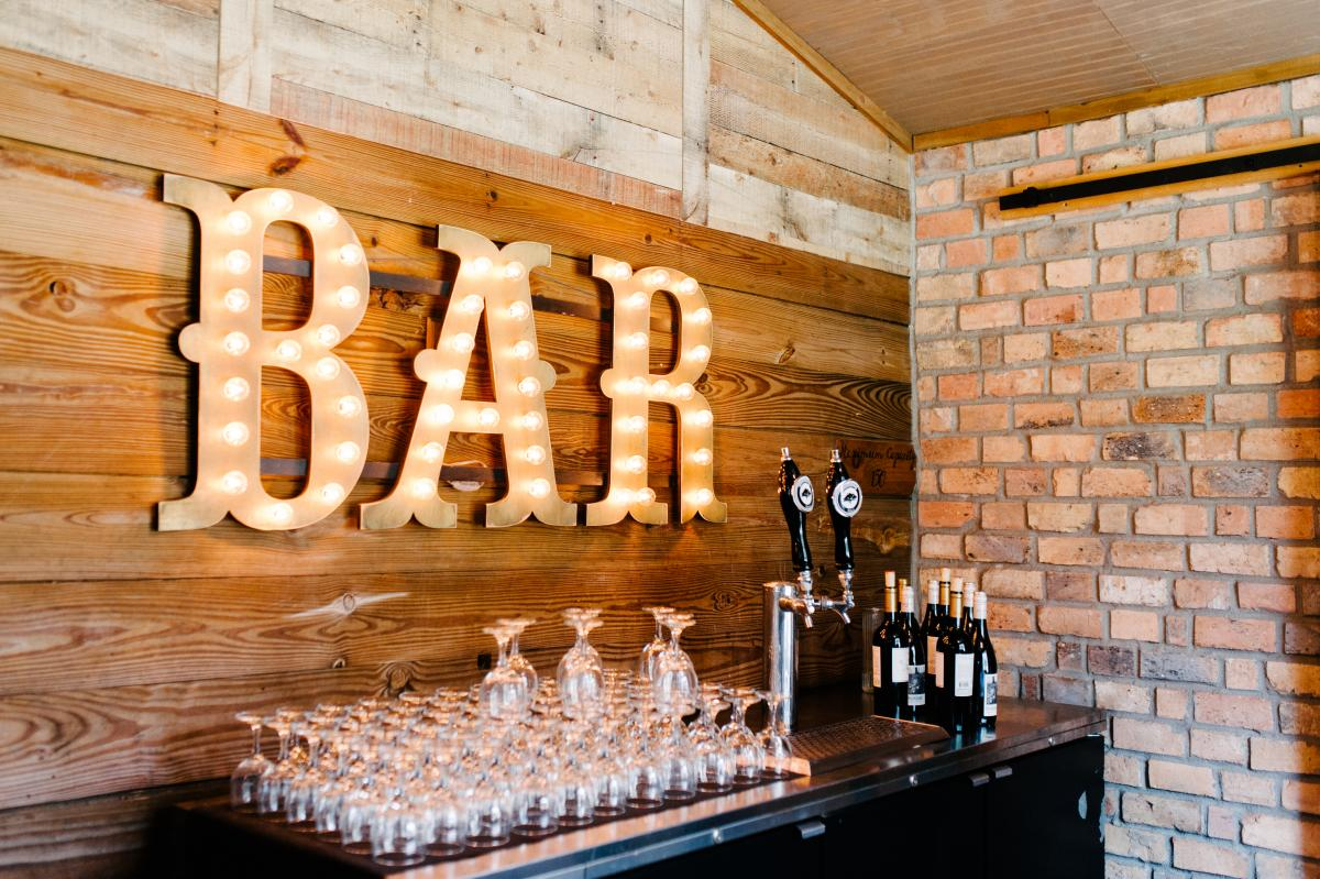 The Carriage House Stable bar sign