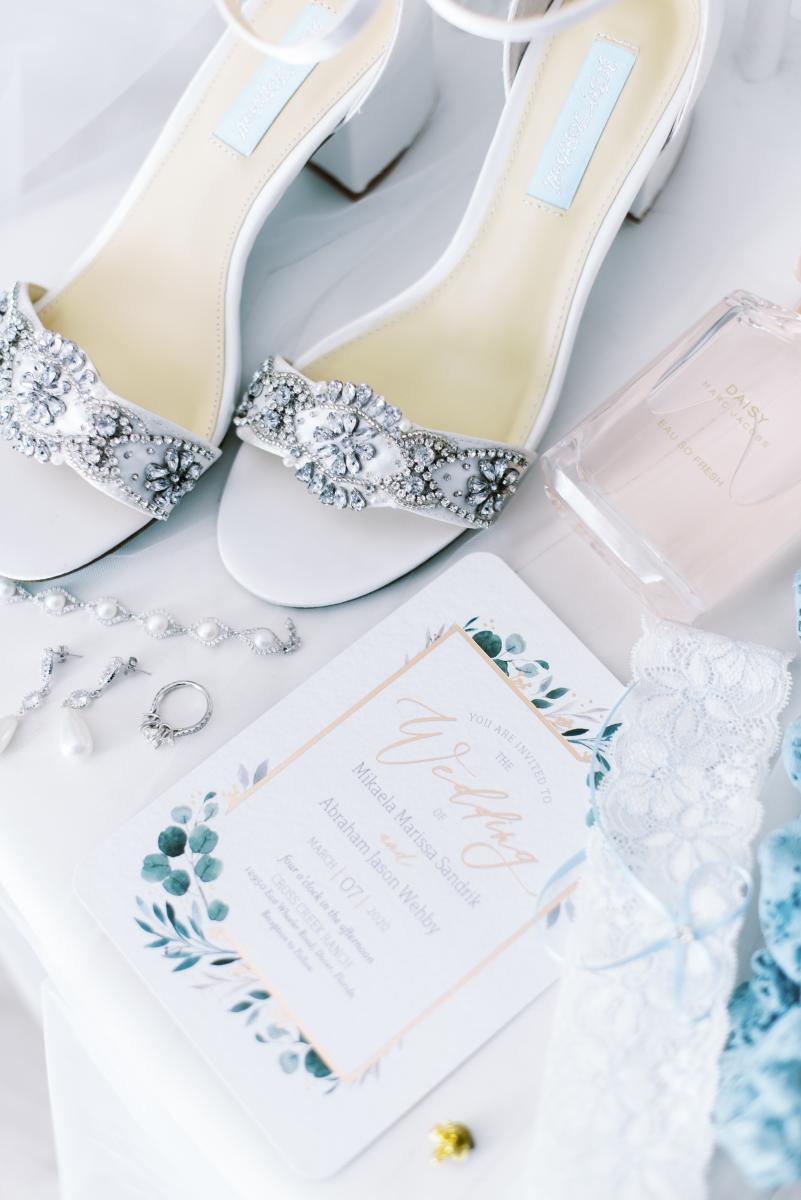 Ultra romantic wedding invitations
