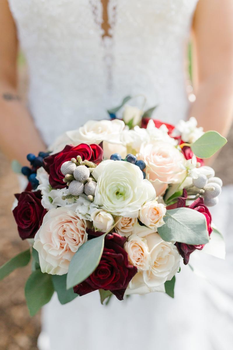 classically beautiful wedding bouquet