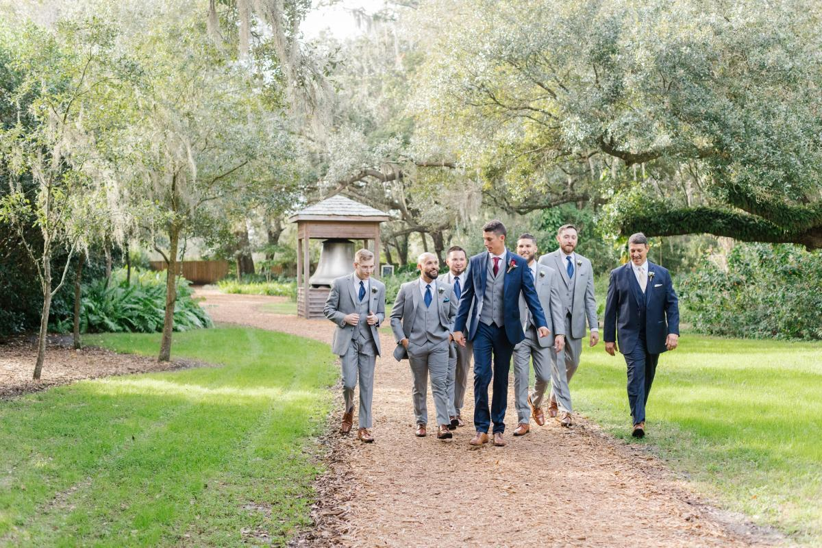 Jimmy and his groomsmen