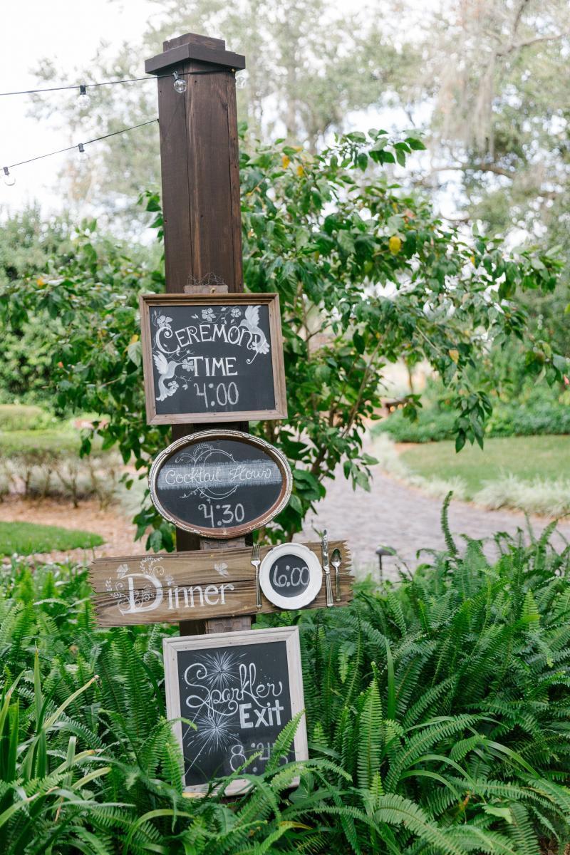 Personalized wedding timeline
