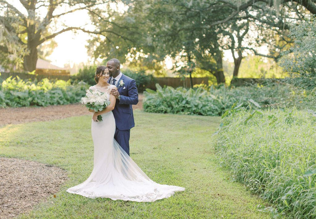 KC and Todd's romantic wedding day photos