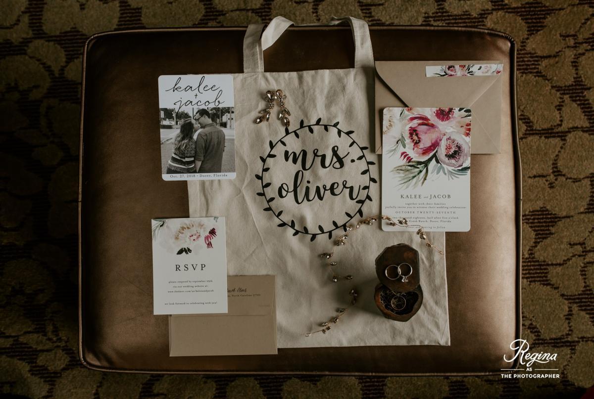 Kalee's wedding details