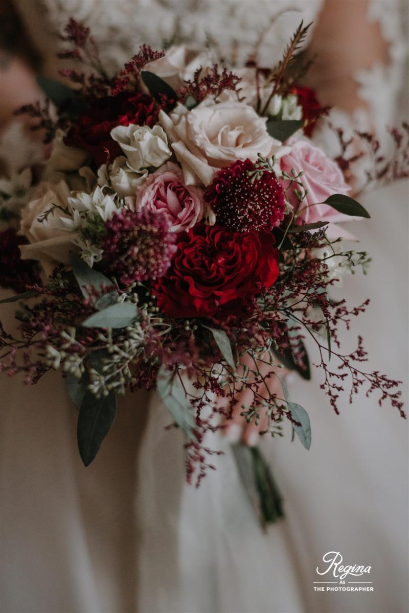 Kalee's bridal bouquet