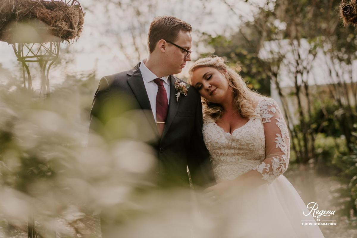 Kalee and Jacob on their wedding day