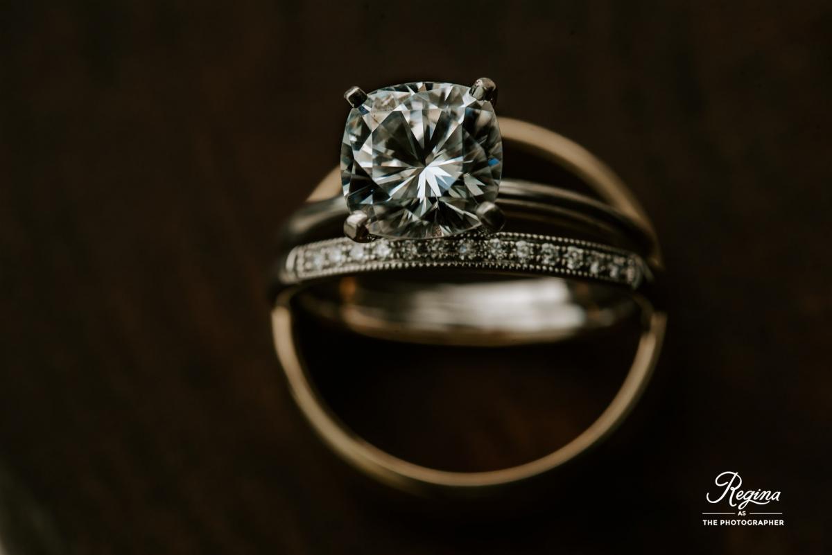 Kalee and Jacob's wedding rings