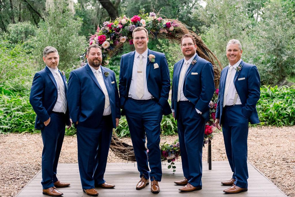 Ken and his groomsmen