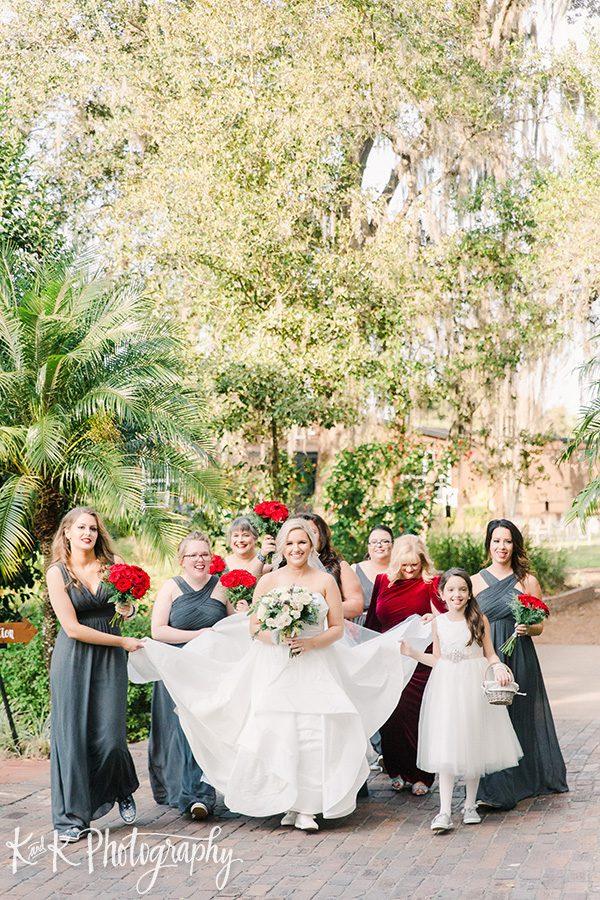 Lauren and her bridesmaids