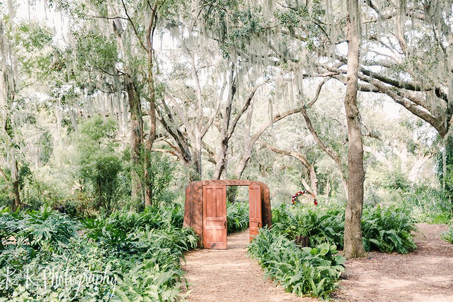 The Enchanted Forest for a Christmas Wedding